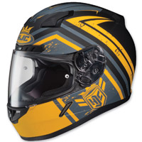 HJC C-17 Mech Hunter Yellow/Black/Gray Full Face Helmet