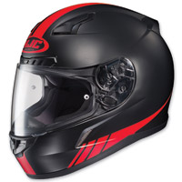 HJC CL-17 Streamline Black/Red Full Face Helmet