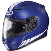 HJC C-17 Streamline Blue/White Full Face Helmet