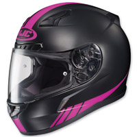 HJC CL-17 Streamline Black/Pink Full Face Helmet