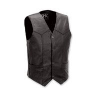 First Manufacturing Co. Classic 4-Snap Men's Black Vest