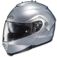 HJC IS-MAX II Silver Modular Helmet