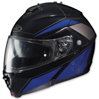 HJC IS-MAX II Elemental Black/Blue Modular Helm