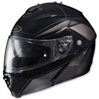HJC IS-MAX II Elemental Gray Modular Helmet