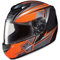 HJC CS-R2 Seca Orange Full Face Helmet