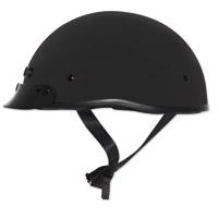 Zox Mikro Custom Matte Black Half Helmet