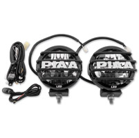 PIAA Powersports LP Series Driving Light Kit with Black Mesh Grills