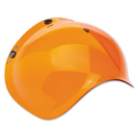 Biltwell Inc. 3-Snap Amber Bubble Shield