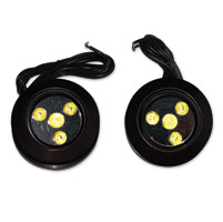 Custom Dynamics Black Mega Spotz LED Driving Lights