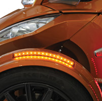 Custom Dynamics Amber Long BRIGHTSIDES LED Lights