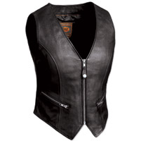 First Manufacturing Co. The Montana Ladies Black Vest