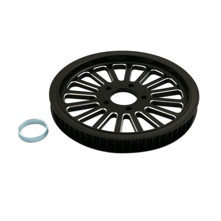 BDL Spoke Black Pulley 66 Tooth