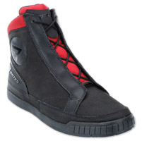 Bates ST250 Griffin Black/Red Leather Boots