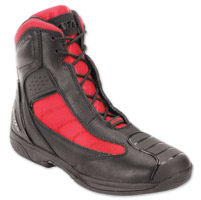 Bates Beltline Men's Black/Red Leather Boots