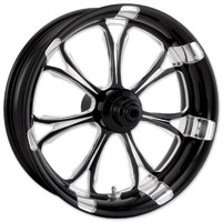 Performance Machine Paramount Contrast Cut Platinum Front Wheel, 18″ X 3.5″