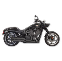 Bassani Black Pro Street Turn Outs