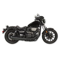 Bassani 4″ Black Megaphone Slip-On Muffler
