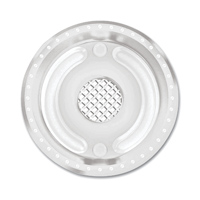 Roland Sands Design Chrome Front Pulley Cover