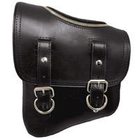 LaRosa Design Black Solo Side Zipper Bag