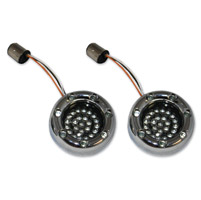 Custom Dynamics LED Chrome Bullet Ringz Inserts