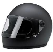 Biltwell Inc. Gringo S Flat Black Full Face Helmet