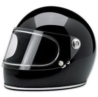 Biltwell Inc. Gringo S Gloss Black Full Face Helmet