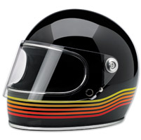 Biltwell Inc. Gringo S LE Spectrum Gloss Black Full Face Helmet