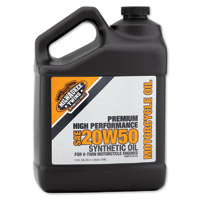 Milwaukee Twins Synthetic 20W50 Engine Oil Gallon