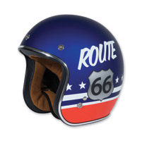 Torc T50 Route 66 Red/White/Blue Open Face Helmet