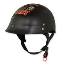 Torc T55.2 Lucky 13 Dirty Rat Flat Black Half Helmet