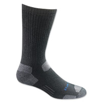 Bates Riding Collection Tactical Uniform Mid Calf Black Socks