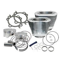 S&S Cycle 98″ Silver Big Bore Kit
