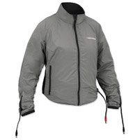 Firstgear 90-Watt Warm and Safe Women's Grey Heated Jacket Liner