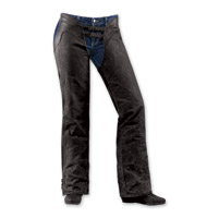 ICON One Thousand Hella 1000 Women's Black Chaps