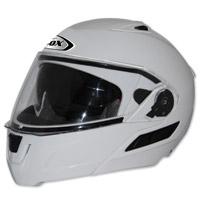 Zox Condor SVS Gloss White Modular Helmet