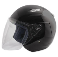 Zox Kaba SX Gloss Black Open Face Helmet