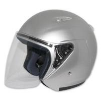 Zox Kaba SX Silver Open Face Helmet