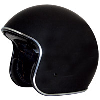 Zox Route 80 DDV Gloss Black Open Face Helmet