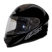 Zox Primo Junior Gloss Black Full Face Helmet