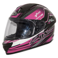 Zox Primo Junior Black/Pink Full Face Helmet
