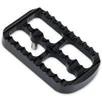 Joker Machine Black Anodized Serrated Brake Pedal Cover