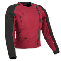 Speed and Strength Tough Love Ladies Red Jacket
