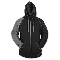 Speed and Strength United By Speed Men's Armored Grey/Black Hoodie
