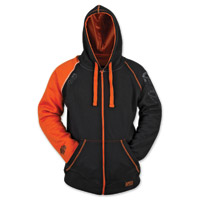 Speed and Strength United By Speed Men's Armored Orange/Black Hoodie
