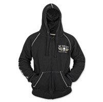 Speed and Strength We, The Fast Men's Armored Black Hoodie