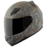 Speed and Strength SS1200 Rust and Redemption Black Full Face Helmet