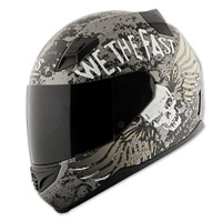 Speed and Strength SS1200 We, The Fast Grey Full Face Helmet