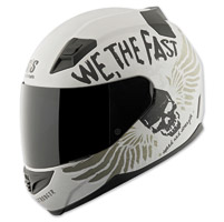 Speed and Strength SS1200 We, The Fast White Full Face Helmet