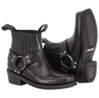 River Road Women's Lo Cut Ranger Harness Black Boots