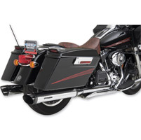 Python Rayzer Chrome Slip-On Mufflers